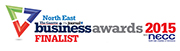 North East Business Awards 2015 Finalist